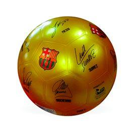 Pilota FC Barcelona signatures