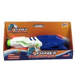 Pistola aigua 48 cm, 2 models, blau i verd (8,96 € amb targeta client)