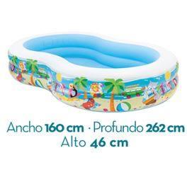 Piscina paradise 262x160x46 572 l