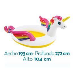 Piscina unicornio 272x193x104