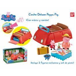 Cotxe deluxe Peppa Pig