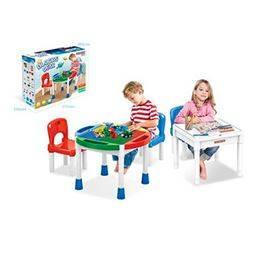Taula amb blocs 3 en 1 dues cadires (71,96 € amb Targeta Client)