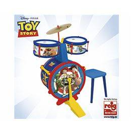 Bateria senzilla amb banqueta Toy Story