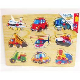 Puzzle de fusta 3 models