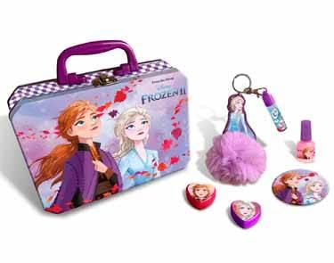 Maletín metálico Frozen 2 maquillaje y accesorios