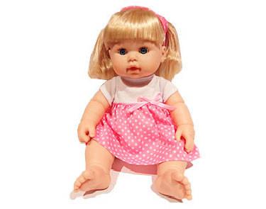 Muñeca pipí con accesorios