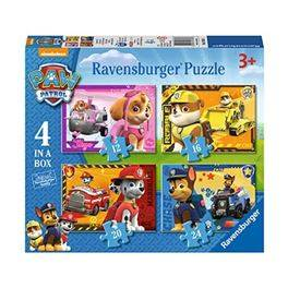 4 in box Paw Patrol