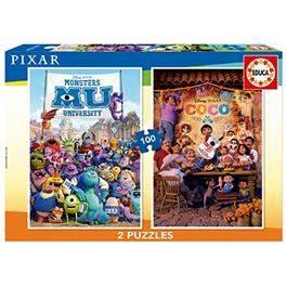 2x100 Pixar (Coco+Monsters University)