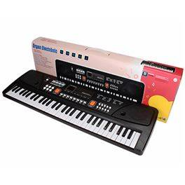 Òrgan 61 tecles, amb micro, presa USB i cable àudio