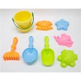 Cub Soft Platja 5 colors, amb accesoris
