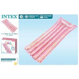 Matalàs rosa glitter 17x53x15 cm