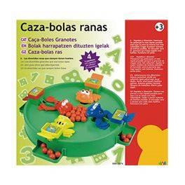 Caza-Bolas Ranas
