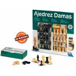 Escacs Dames 40 cm + accessoris