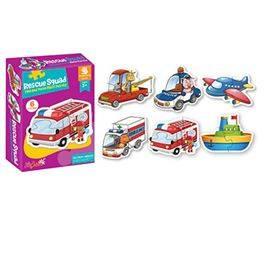Puzzle vehículo infantil