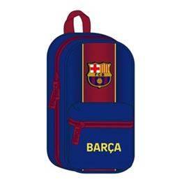 Plumier motxilla amb 4 portatot plens FC Barcelona 20/21