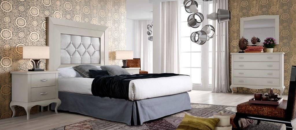 Dormitorio con patas