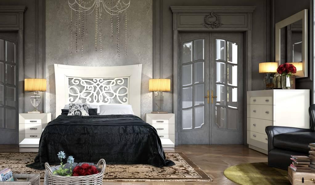 Dormitori amb capçal calat