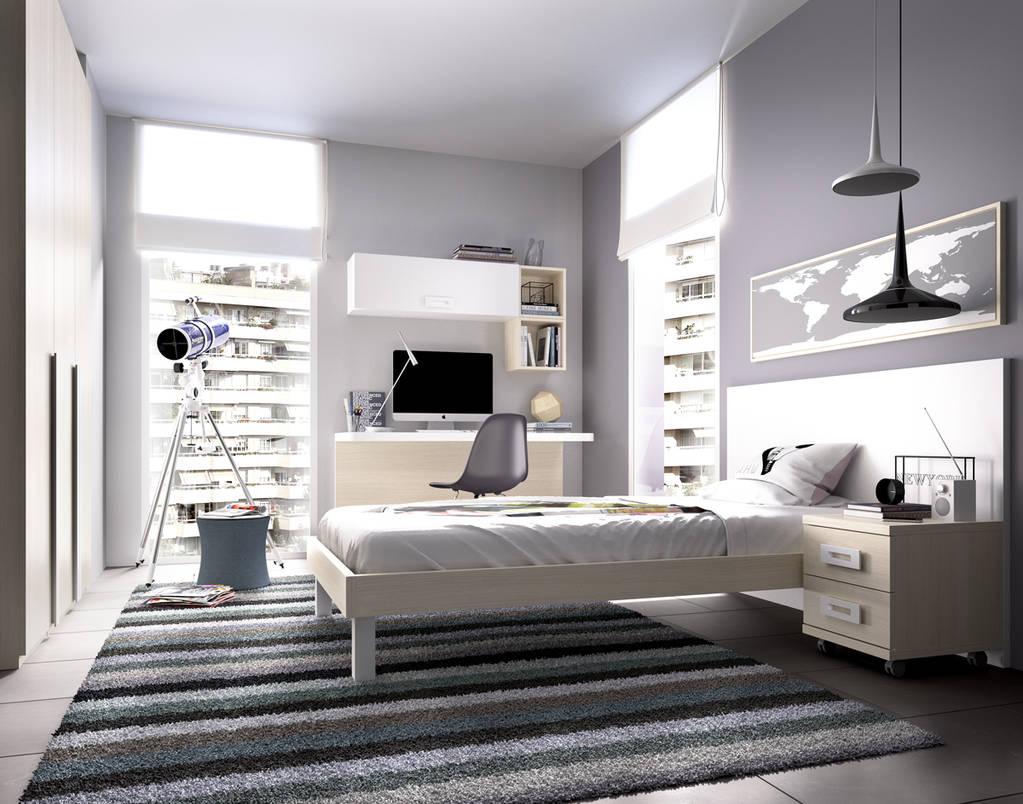 Dormitorio de 1 cama