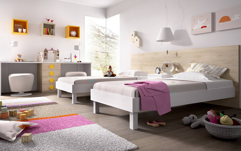 Dormitori de 2 llits
