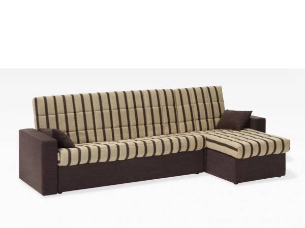 Sofà llit amb chaise-longue