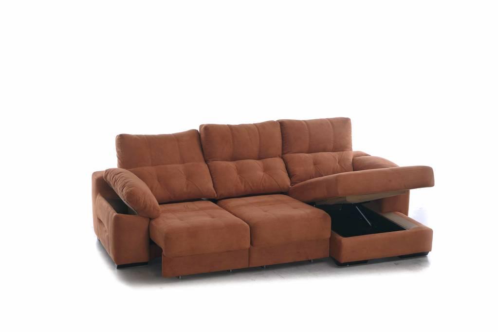 Sofà lliscant amb chaise-longue