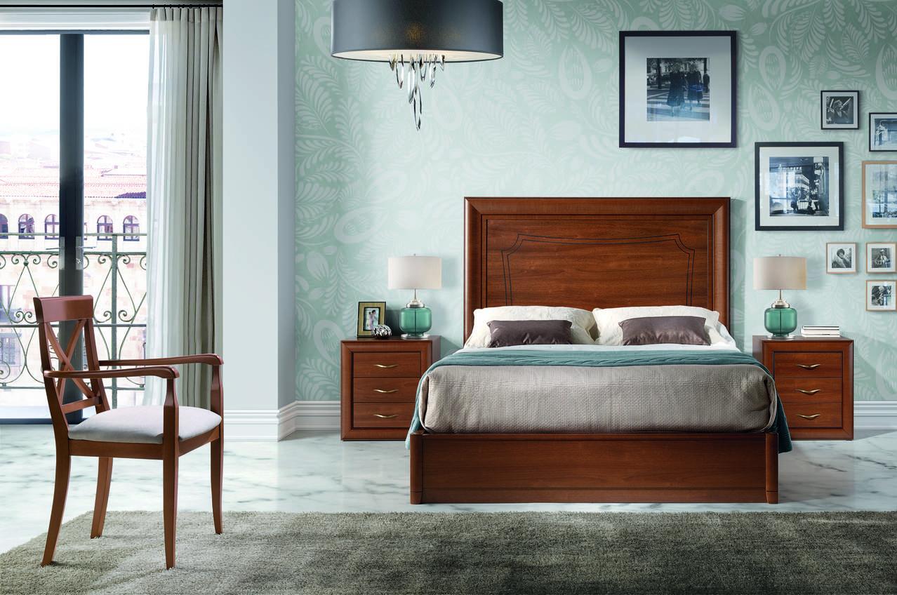 Dormitorio con canapé elevable