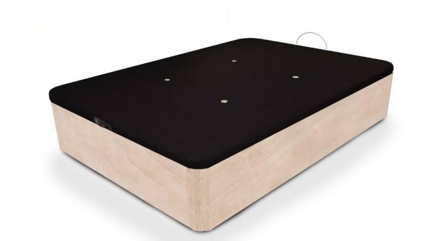 Canapé elevable de madera
