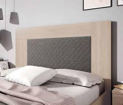 Capçal entapissat per llit de 135 i 150cm