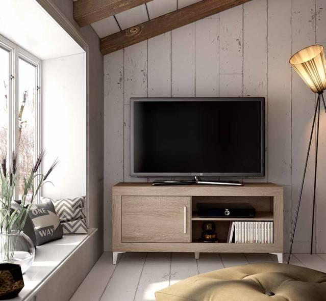 Mesa tv de 180cm con patas