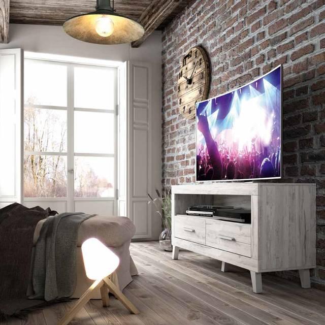Taula tv de 130cm amb potes
