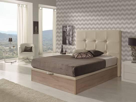 Canapè de fusta elevable