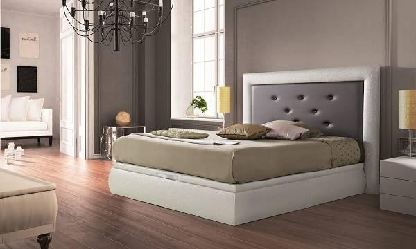 Canapè entapissat elevable