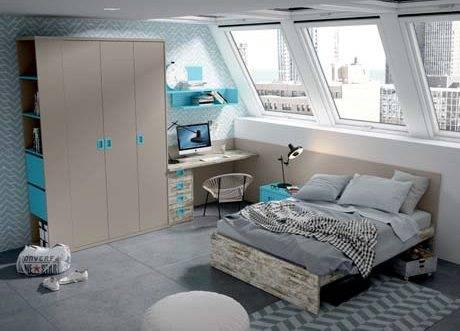 Dormitori amb llit de 135cm