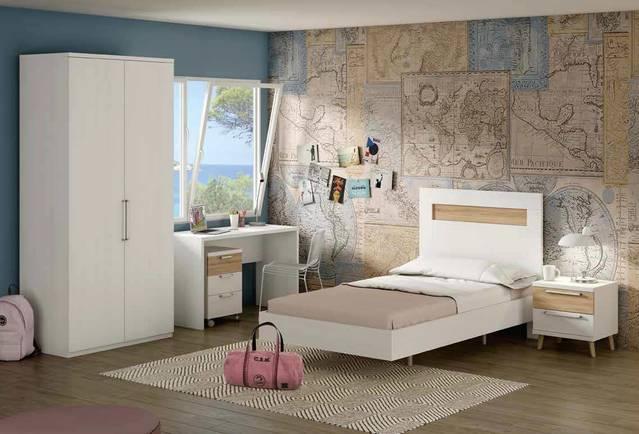 Dormitori juvenil amb armari