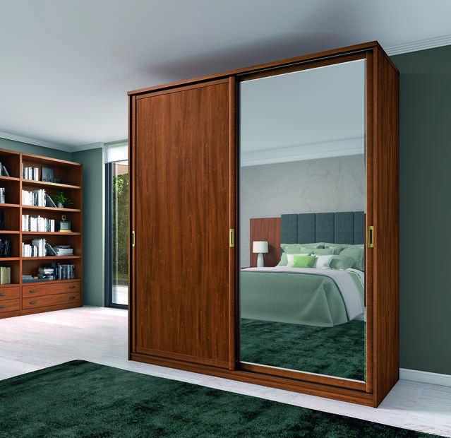 Armari 2 portes corredisses amb mirall