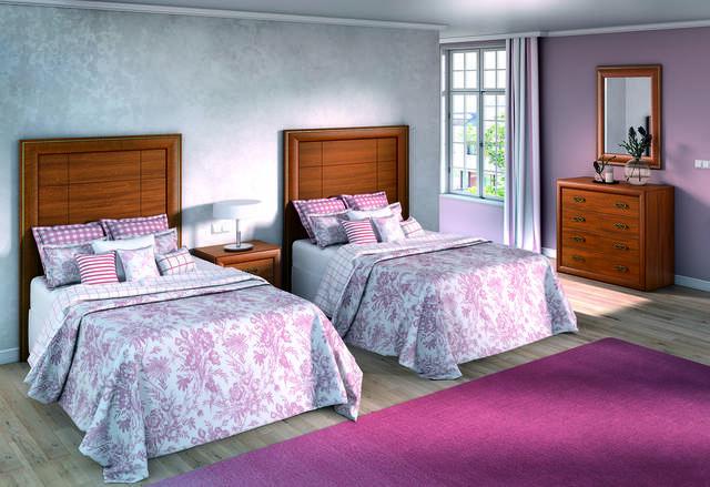 Dormitori amb 2 llits