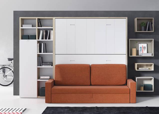 Litera abatible con sofá