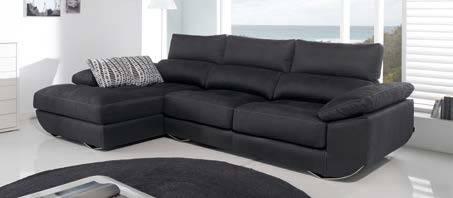 Sofà amb chaise-longue