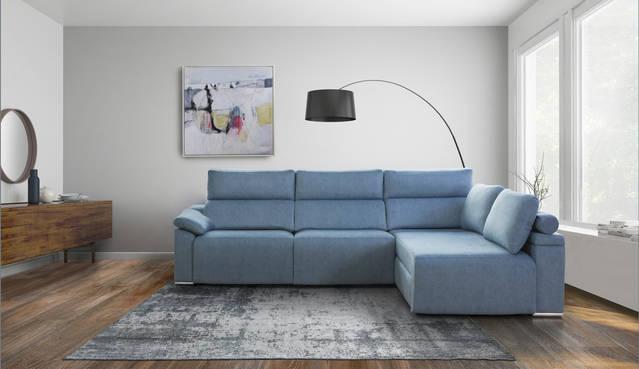 Sofà relax elèctric amb chaise-longue