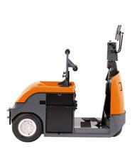 Tractor de arrastre de conductor montado-sentado para aplicaciones de arrastre de alta intensidad