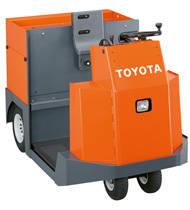 Tractor de arrastre de conductor a pie para arrastre de cargas pesadas y preparación de pedidos