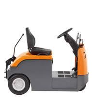 Tractor de arrastre de conductor montado-sentado para transporte horizontal en largas distancias