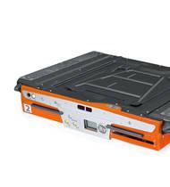 Portacargas automatico para aplicaciones de almacenaje de alta densidad