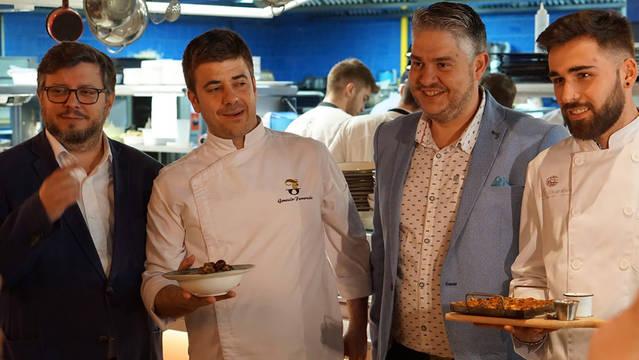El Aplec lleva los caracoles de Lleida al restaurante de Messi