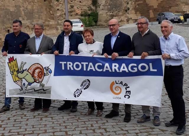 Con La Trotacaragol se avanza la Semana Cultural del Aplec