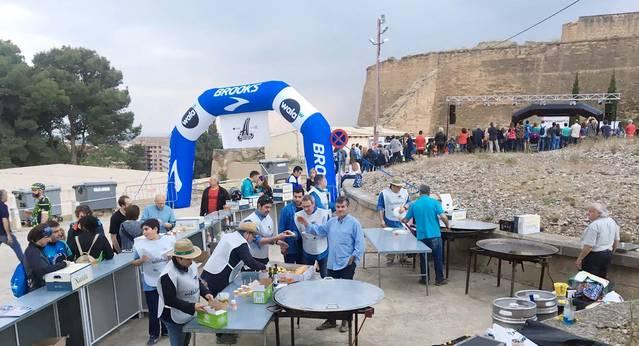 Caracolada Solidaria para AREMI, en el marco de una Trotacaragol con más de 200 atletas