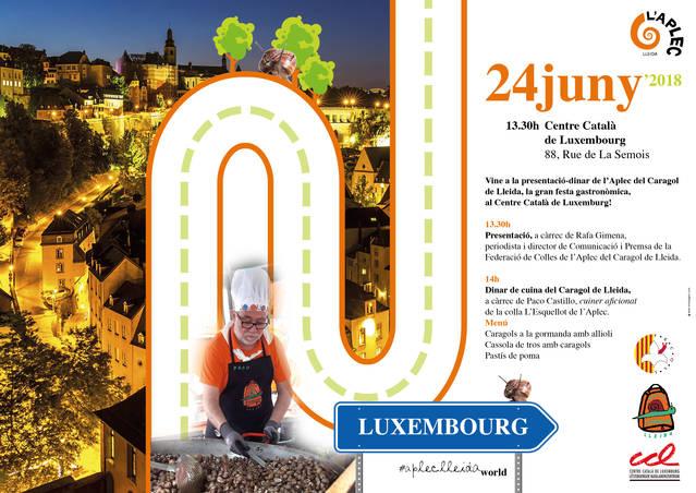 La Fecoll promociona l'Aplec del Caragol al Canigó i a Luxemburg