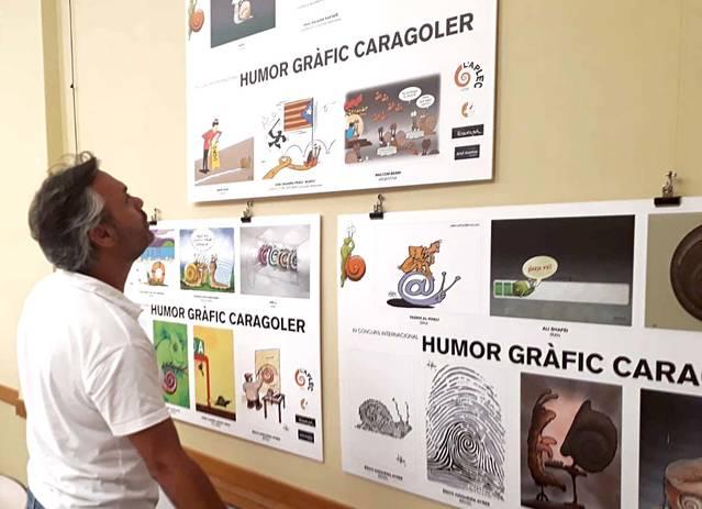 Ajornada sine die la reunió del jurat de la XIIIè Concurs d'Humor Gràfic Caragoler de la Fecoll