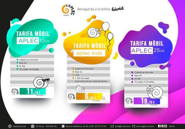 Bivid crea les Tarifes Aplec de telefonia mòbil, exclusives per a collistes i empreses vinculades a la Fecoll