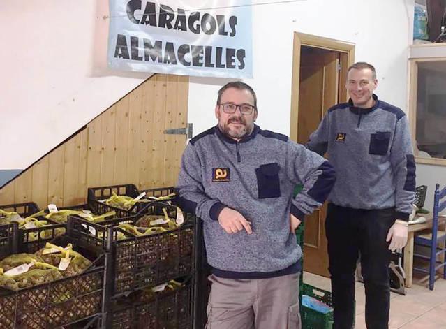 Caragols Almacelles i la Fecoll renoven la col·laboració fins al 2023